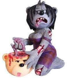 TOYS ATTACK : BAD TASTE BEARS COLLECTION PETER UNDERHILL HORROR MOVIE …