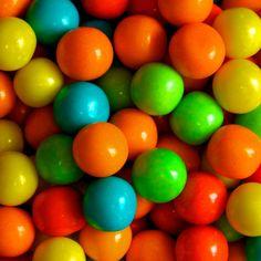 Rainbow ball by @Doug88888, via Flickr - Gum balls