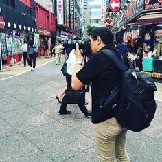 Avec @ungaijinaujapon pour tester son nouveau jouet :) #japon #japan #street #streetjapan #streetjapon #shinjuku #sony #tripjapan #discoverjapan (by giyomuaujapon)