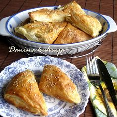 Danina kuhinja: Trouglovi sa sirom