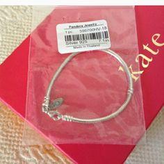 🎄 GIFTWORTHY 🎄 NWT Pandora Silver Bracelet Authentic Pandora sterling silver stamped 925 bracelet, new never worn. Pandora Jewelry Bracelets