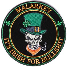 Shop Irish patches and Irish biker patches. Embroidered Irish Patches for vests, clothes, and jackets. Shop for your Irish Pride patches today. Funny Patches, Flag Patches, Cool Patches, Biker Patches, Skull Patches, Green Motorcycle, Scout Badges, Irish Pride, Morale Patch