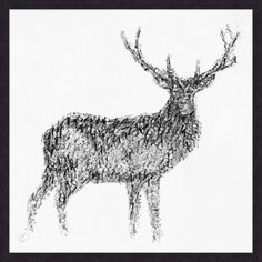 Abstracted Stag