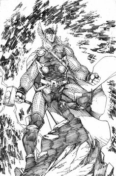 Thor by Brett Booth