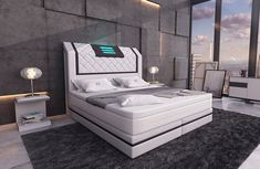 Usb, Bedroom Closet Design, Bed Furniture, Showroom, Designer, Lounge, Couch, France, Home Decor