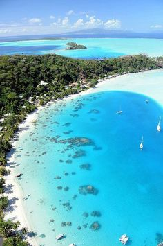 The island of Tonga in the South Pacific