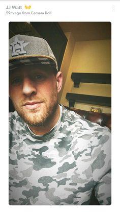 JJ Watt's Snapchat - 12.15.17 - gorgeous in gray - #DreamBigWorkHard #HuntGreatness #JustAKidFromPewaukee #Justincredible