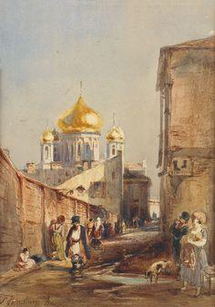Saint-Petersbourg, by Felix Ziem