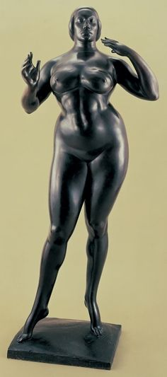 Standing Woman (1912-27) Gaston Lachaise [Whitney Museum of Art]