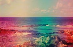 the ocean in technicolor is seeing life through technicolor glasses