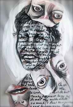 Desperately seeking Karin... #journal #grief #arttherapy