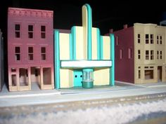 ho scale theater -