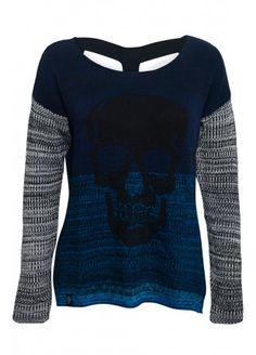 Metal Mulisha Static Skull Sweater