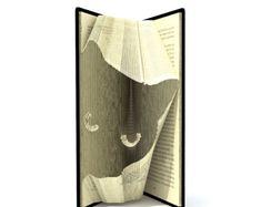 Book folding pattern HORSE 175 folds by SimplexBookFolding