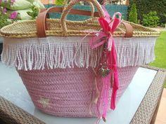 Adoro a decoração desta cesta