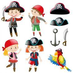Shiba Inu, Kids Pirate Ship, Irregular Past Tense, Parrot Pet, Emblem, Pirate Theme, Fun Learning, Logo Design, Childrens Books