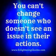 You can't change them