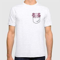 Pocket Axolotl T-shirt