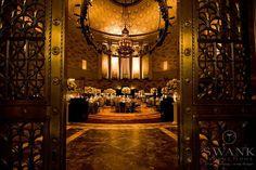 Wedding Reception, Gotham Hall, New York City  | A Manhattan wedding venue | www.partyista.com