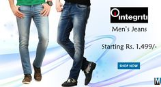 Buy Men's #Jeans #online on #myshopbazzar. Wide range of Regular, Skinny & Slim Jeans from top brands. Check out latest collection of Denims for Men.