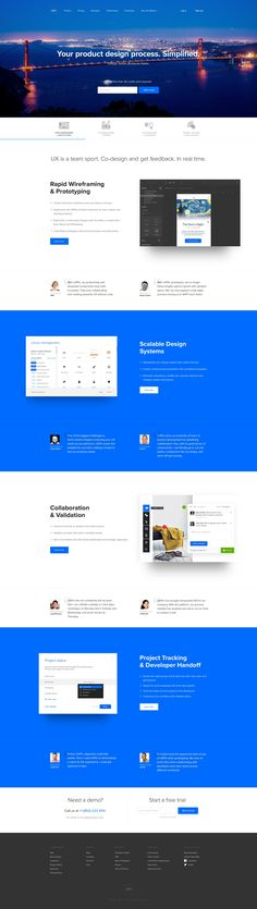 UXPin product page