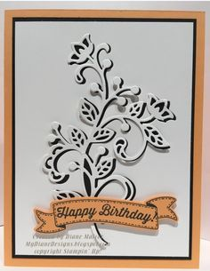 Flourishing Banners by Diane Malcor - Cards and Paper Crafts at Splitcoaststampers