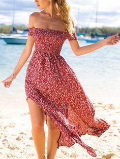 Black V-neck Cut Out Detail Floral Print Open Back Maxi Dress | Choies