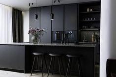 Is To Me   Interior inspiration   Dark kitchen