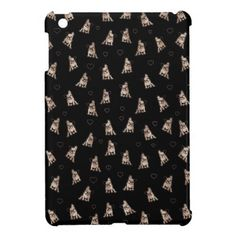 #Bulldog pattern iPad mini cover - #bulldog #puppy #bulldogs #dog #dogs #pet #pets