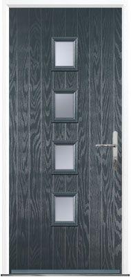 Grey Composite Doors from Global Composite Door  A selection of our doors available in grey #compositedoors #grey