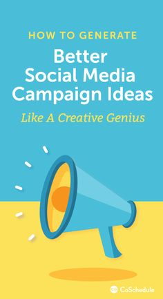 How To Generate Social Media Campaign Ideas Like A Creative Genius Best Social Media Campaigns, Social Campaign, Types Of Social Media, Social Media Tips, Content Marketing Strategy, Social Media Marketing, Integrated Marketing Communications, Corporate Communication, For Facebook