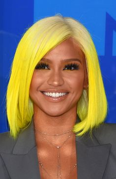 Cassie's neon yellow