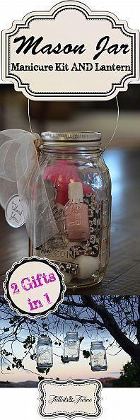 cute mason jar gift idea!
