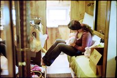 Jane & Lauren    May 29, 2012   Leica M7     Trailer living.