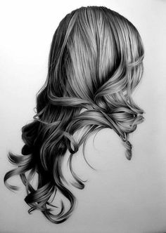 Lernen Learn to draw with pencil - create art ▷ Zeichnen lernen mit Bleistift – selbst Kunst schaffen draw a hairstyle with lots of lines - Landscape Pencil Drawings, Pencil Art Drawings, Art Drawings Sketches, Easy Drawings, Amazing Pencil Drawings, Pencil Sketching, Face Pencil Drawing, Nose Drawing, Human Drawing