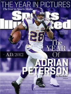 cf7755293 How about making football history and medical history at the same time   Vikings running back Adrian Peterson