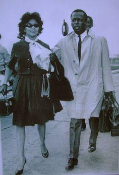 Frances Taylor & Miles Davis…
