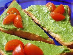 Paté de aguacate con tostas :: recetas veganas recetas vegetarianas :: Vegetarianismo.net