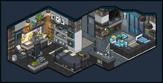 Modern apartment bedroom for male design by Cutiezor on DeviantArt