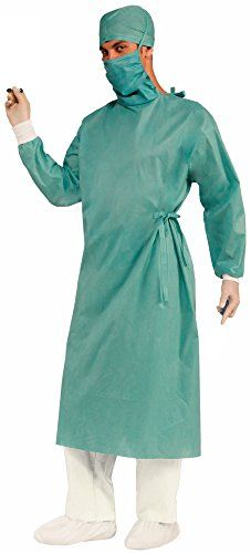 Forum Novelties Men's Master Surgeon Adult Costume, Green, One Size Forum Novelties http://www.amazon.com/dp/B00IPPLM4A/ref=cm_sw_r_pi_dp_699Kub1RP45RB