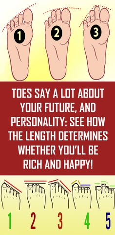 Toes Say a Lot About Your Future, and Personality See How the Length Determines Whether You'll be Rich and Happy! is part of Healthy advice Would i be able to ask you something As a matter of fac - Fitness Inspiration, Natural Antibiotics, Healthy Tips, Stay Healthy, Healthy Living, Healthy Recipes, Healthy Beauty, Happy Healthy, Healthy Nutrition