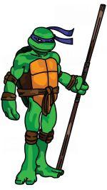 How to Draw Donatello from Ninja Turtles