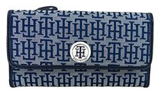 Tommy Hilfiger Womens Wallet - Blue - http://bags.bloggor.org/tommy-hilfiger-womens-wallet-blue-3/