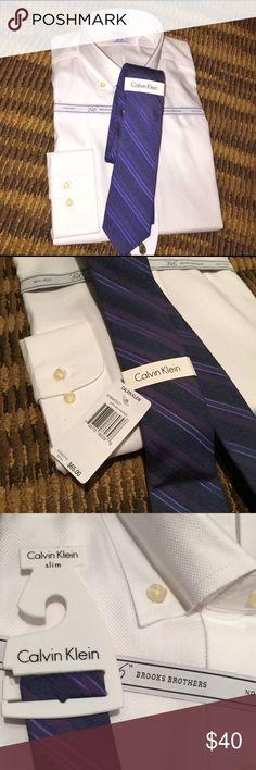 NWT Calvin Klein Slim Tie Slim tie Calvin Klein Collection Accessories Ties