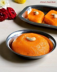 Simple n yummy south indian sweet recipe - Rava kesari - A kind of pudding using semolina !