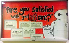 Latest bulletin board. #baymax #selfcare #reslife #bulletinboard #ra