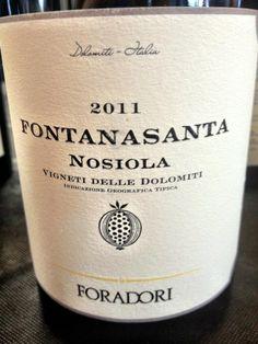 El Alma del Vino.: Azienda Agricola Elisabetta Foradori Fontanasanta Nosiola 2011.
