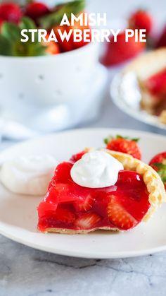 Amish Recipes, Pie Recipes, Dessert Recipes, Candy Recipes, Refreshing Desserts, Delicious Desserts, Sweet Desserts, Yummy Treats, Sweet Treats