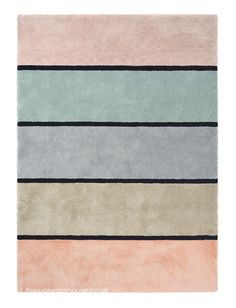 Striped Rug, Different Textures, Colorful Rugs, Rugs On Carpet, Area Rugs, Pastel, Showroom, Colours, Shaggy Rugs