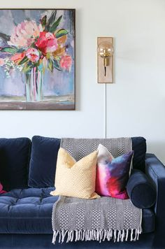 11 best navy blue velvet sofa images blue couches blue velvet rh pinterest com